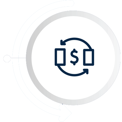 users to send and receive money